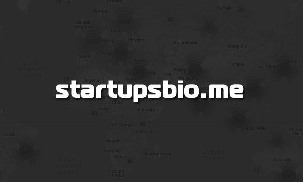 Startupsbio.me is a Global Startup Map Powered by AngelList&#8217;s API