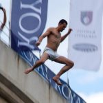 LIVE: Mostar Old Bridge Diving Finals, Brought To You By An iPhone
